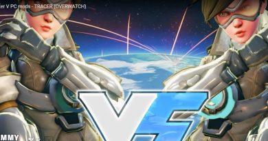 Tracer en Street Fighter V