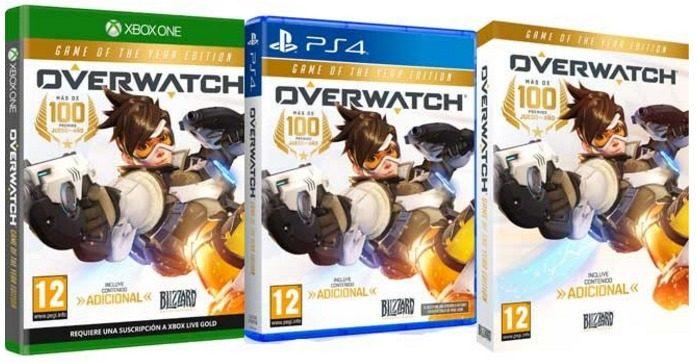 Edicion Juego Del Año de Overwatch